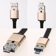 Cable Multifunction OTG Charging Cable To Charger Data For IPhone Android