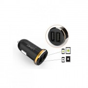 LDNIO DL-C22 Lightning USB Car Charger Dual Port 2.1 A + ANDROID CABLE